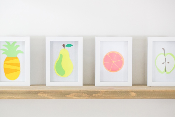 Khéo tay làm bộ tranh trái cây sắc màu trang trí nhà thêm ấn tượng 14