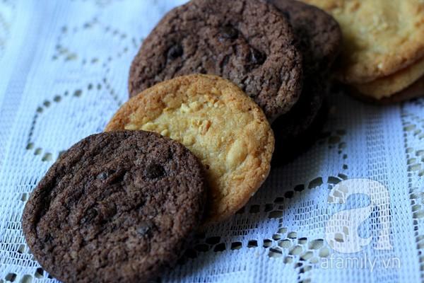 Chỉ 1 công thức làm 2 loại bánh quy cực ngon! 1
