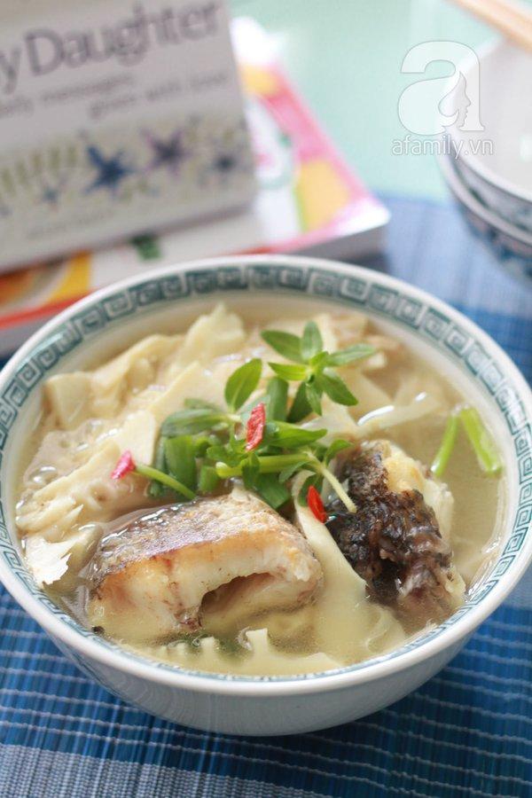 Canh cá nấu măng cho bữa tối ngon cơm 1
