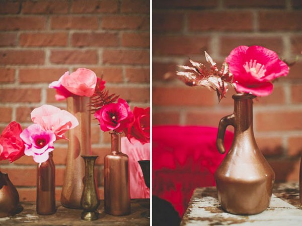 Cách làm hoa giả từ giấy nhún cực đẹp mà dễ 15