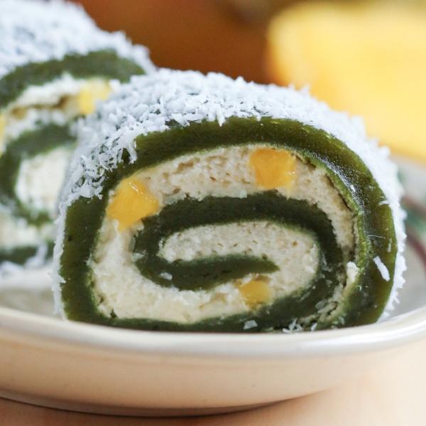 Dùng lò vi sóng làm bánh mochi trà xanh ngon, đẹp 21