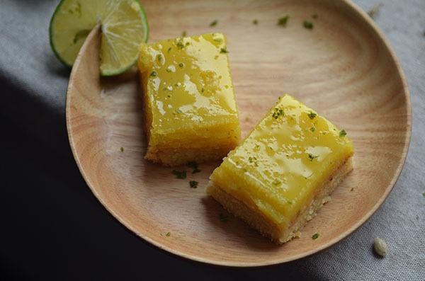 Chua thơm hấp dẫn món bánh chanh 20