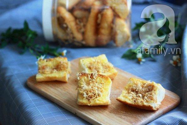 Bánh mì bơ ruốc siêu tốc ăn sáng ngon tuyệt đỉnh! 1