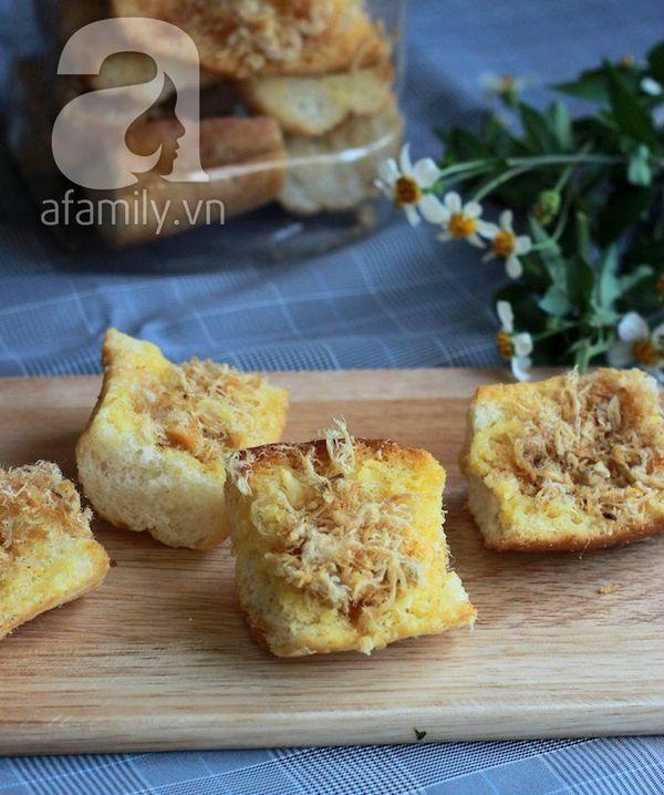Bánh mì bơ ruốc siêu tốc ăn sáng ngon tuyệt đỉnh! 16