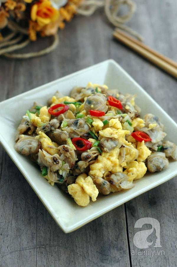 Trứng xào ngao giản dị ngon cơm cho bữa tối 18