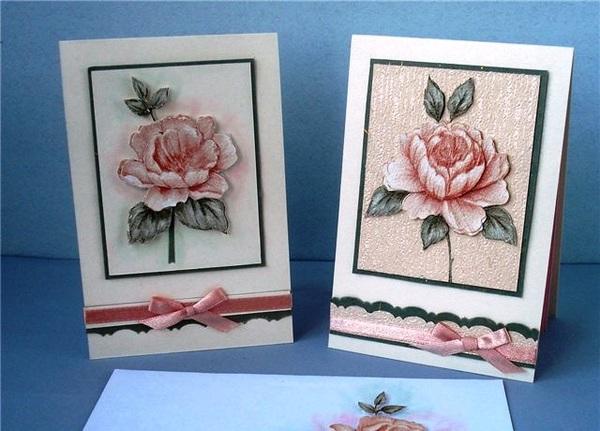 Tự làm thiệp nổi hoa hồng dễ dàng và đẹp mắt 13