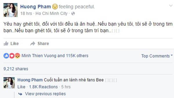Phạm Hương The Face