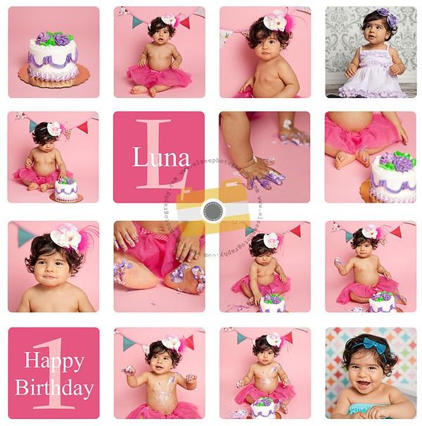 Khoảnh khắc ngộ nghĩnh trong sinh nhật bé tròn 1 tuổi 1