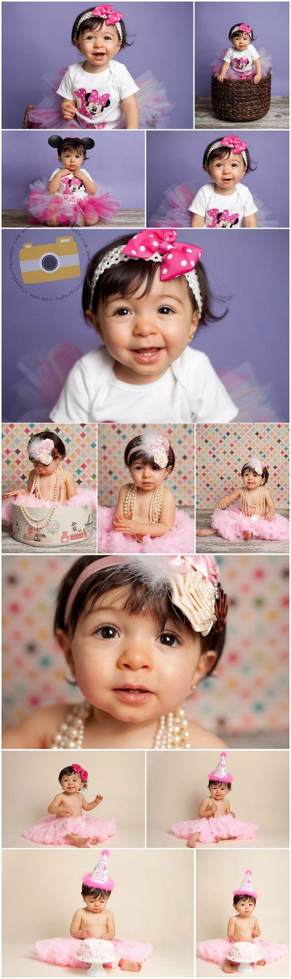 Khoảnh khắc ngộ nghĩnh trong sinh nhật bé tròn 1 tuổi 4