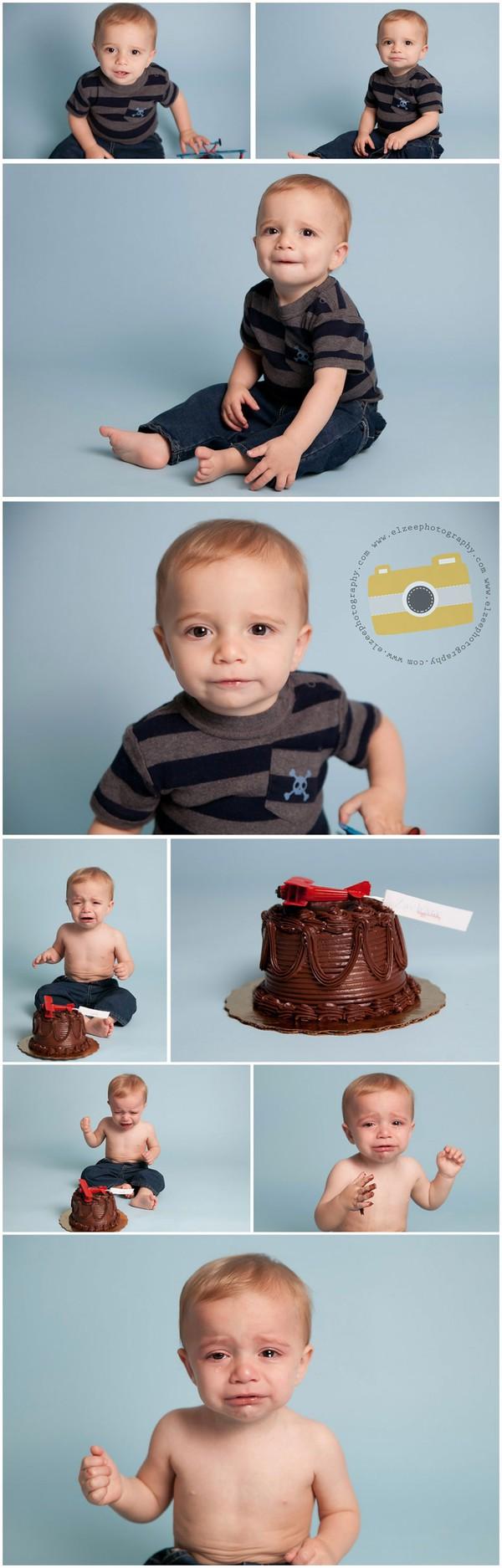 Khoảnh khắc ngộ nghĩnh trong sinh nhật bé tròn 1 tuổi 6