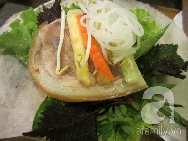 Nếm thử bánh tráng cuốn thịt heo Trảng Bàng ở Văn Cao 6