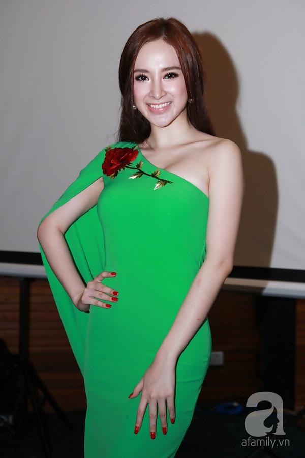 Bạn nhảy tình cảm nâng váy cho Angela Phương Trinh 3