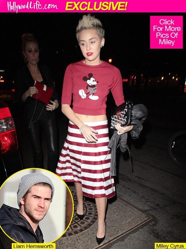 Miley Cyrus suy sụp vì Liam Hemsworth hoãn cưới 1