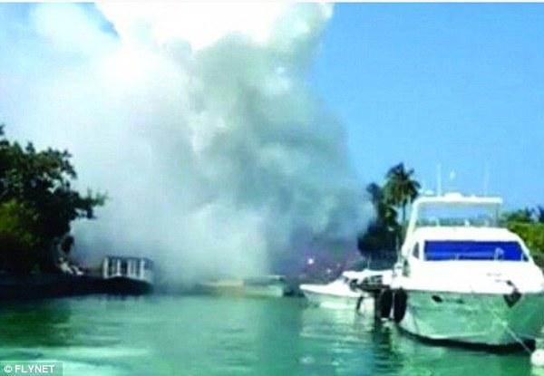 Nơi nghỉ của gia đình Victoria Beckham vừa bị nổ lớn 3