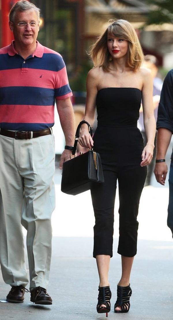 Gia đình Taylor Swift gây chú ý với chiều cao vượt trội  3