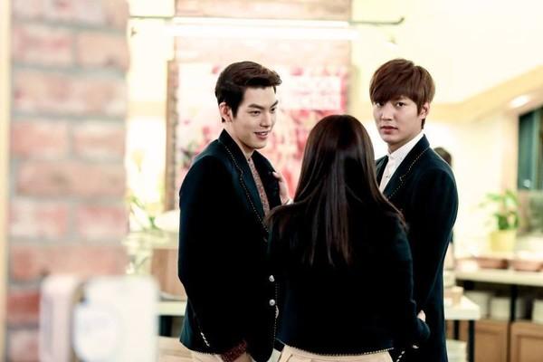 """""""Anh em"""" Lee Min Ho thân thiết trên phim trường """"The Heirs"""" 10"""