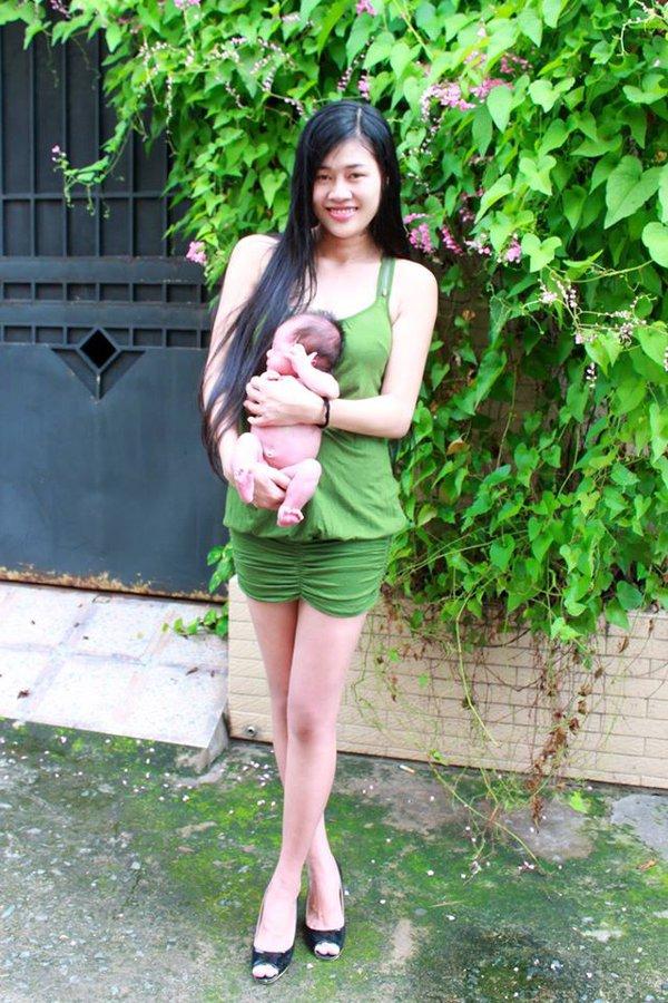 Nữ nhà văn xinh đẹp tiết lộ nỗi đau bị phụ tình trước ngày sinh con 6
