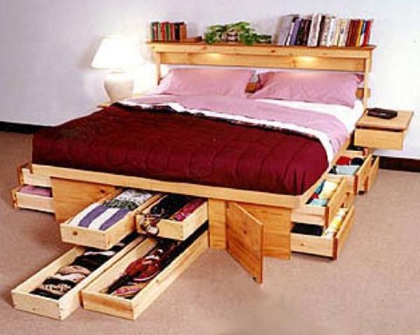 6 giải pháp tận dụng đồ nội thất thành nơi lưu trữ đồ đạc 6