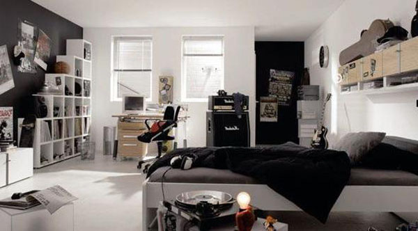 Tư vấn giúp mẹ cải tạo phòng ngủ ngăn nắp cho con trai 6