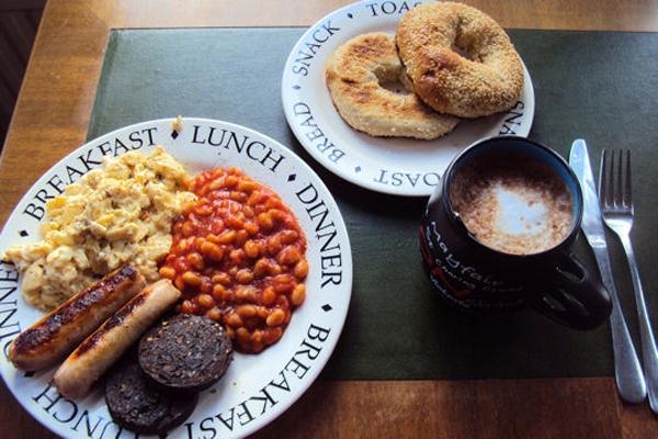 Thích thú với những bữa sáng ngon lành trên thế giới 1