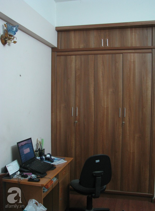 Ngắm hai phòng ngủ đẹp lung linh sau khi cải tạo ở Hà Nội 16