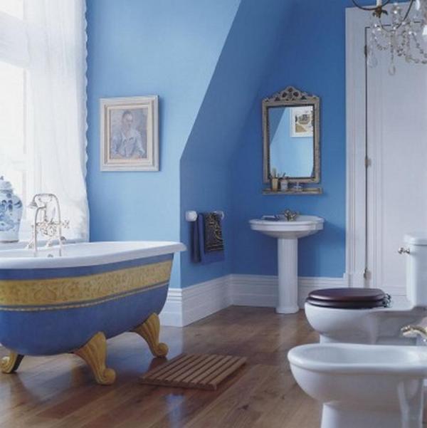 Tô điểm cho phòng tắm quyến rũ hơn nhờ màu sắc 4