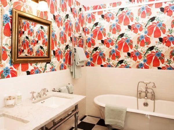 Tô điểm cho phòng tắm quyến rũ hơn nhờ màu sắc 5