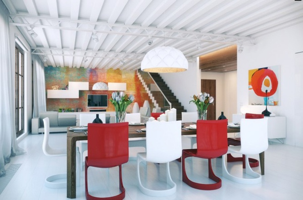 4 gợi ý trang trí nhà với gam màu đỏ 2