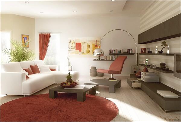 4 gợi ý trang trí nhà với gam màu đỏ 4