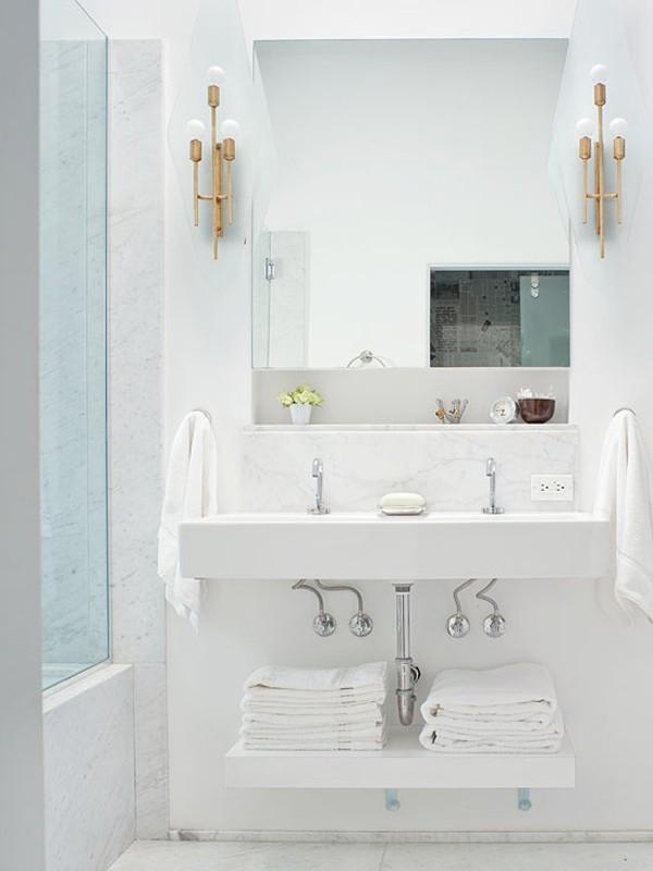 Giải pháp lưu trữ thông minh cho phòng tắm nhỏ  2