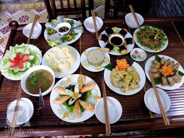 Điểm danh các quán chay ngon, giá mềm tại Hà Nội 20