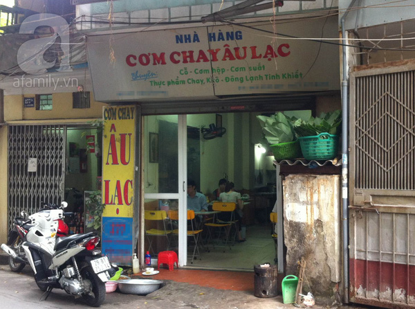Điểm danh các quán chay ngon, giá mềm tại Hà Nội 5