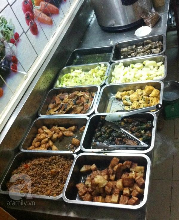 Điểm danh các quán chay ngon, giá mềm tại Hà Nội 6