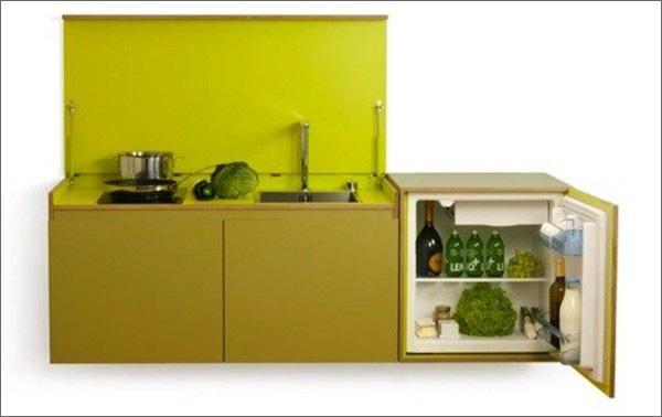Bếp treo - giải pháp tuyệt vời cho căn hộ không có nhà bếp 2