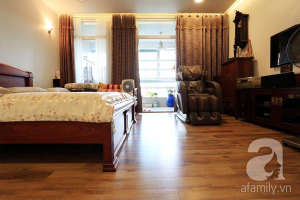 Đầy cảm hứng với căn hộ tràn sắc xanh tại Hoàng Hoa Thám 12