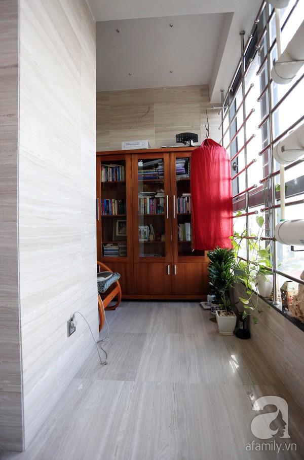 Đầy cảm hứng với căn hộ tràn sắc xanh tại Hoàng Hoa Thám 14