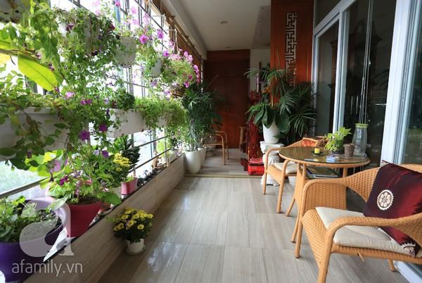 Đầy cảm hứng với căn hộ tràn sắc xanh tại Hoàng Hoa Thám 15
