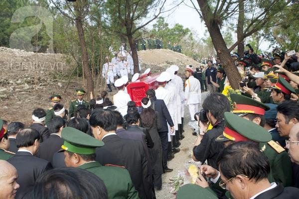 Đại tướng Võ Nguyên Giáp đã yên nghỉ trong lòng đất Mẹ 89