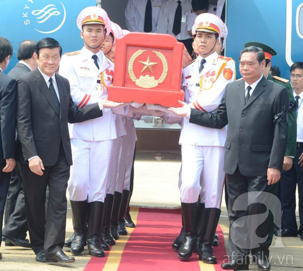 Đại tướng Võ Nguyên Giáp đã yên nghỉ trong lòng đất Mẹ 75