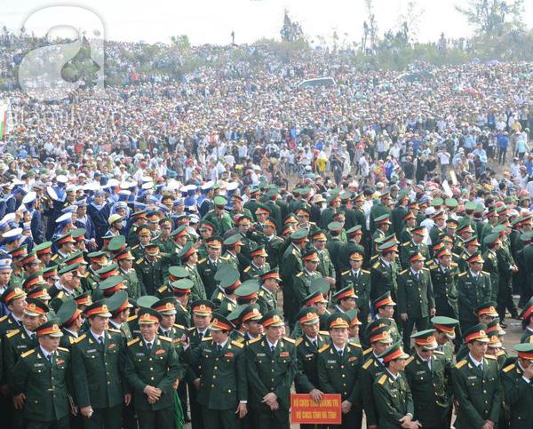 Đại tướng Võ Nguyên Giáp đã yên nghỉ trong lòng đất Mẹ 98