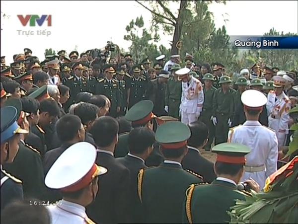 Đại tướng Võ Nguyên Giáp đã yên nghỉ trong lòng đất Mẹ 120