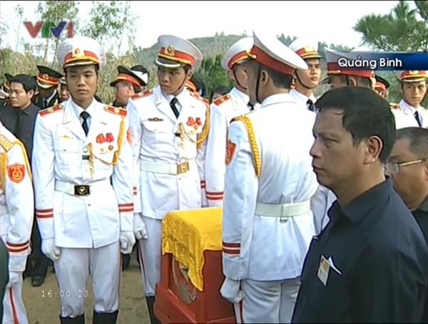 Đại tướng Võ Nguyên Giáp đã yên nghỉ trong lòng đất Mẹ 108