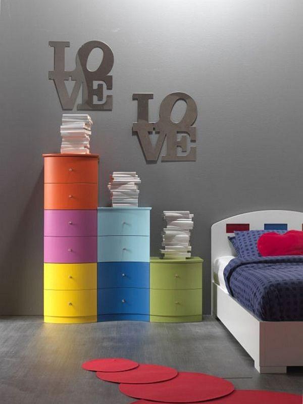 Giúp không gian sống sinh động bằng vật dụng màu sắc 3