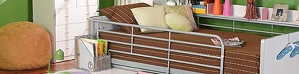 Không gian ao ước cho hai bé nhờ hệ giường đa năng 10