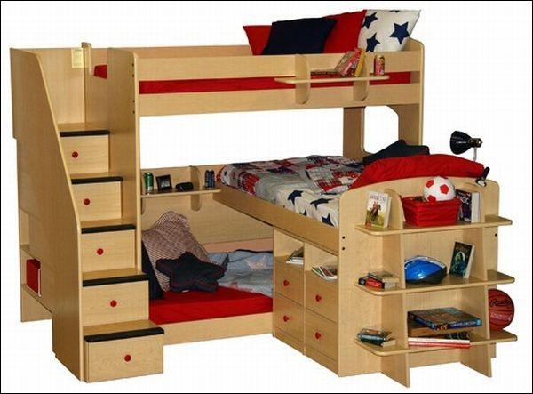 Những mẫu giường ngủ tuyệt hảo cho phòng bé 8