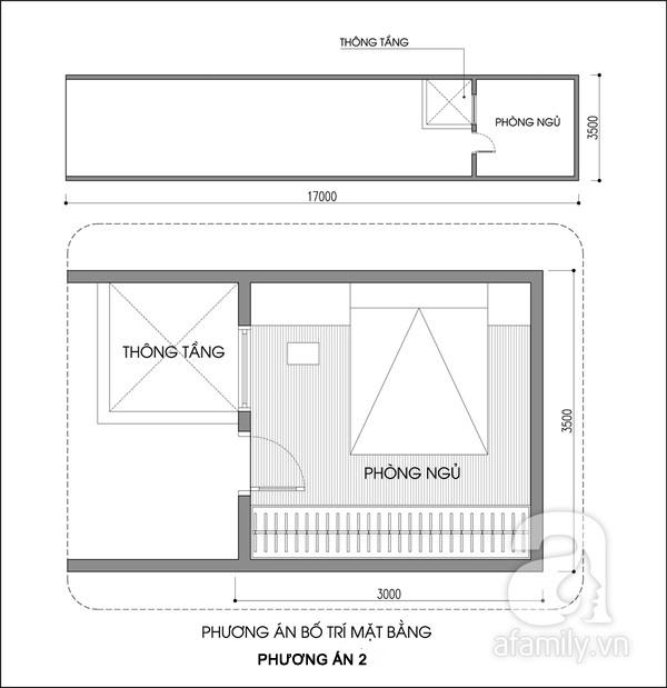 Tư vấn bố trí nội thất phòng 10m² cho vợ chồng son 2