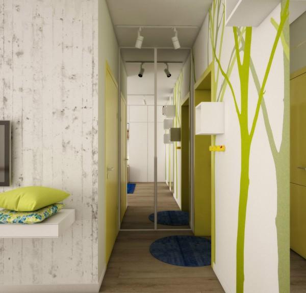Căn hộ nhỏ đầy cảm hứng với tông màu vàng chanh 10