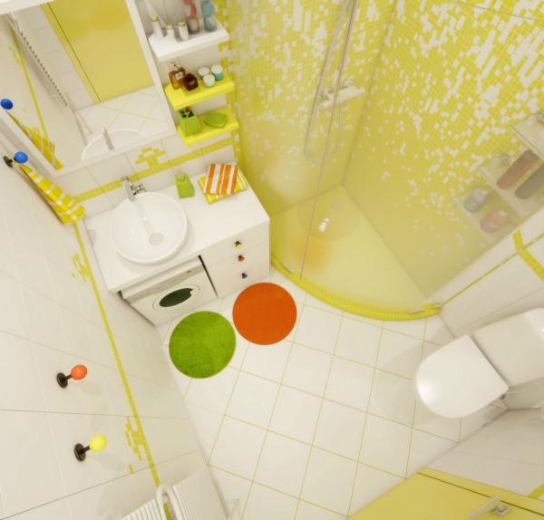 Căn hộ nhỏ đầy cảm hứng với tông màu vàng chanh 11
