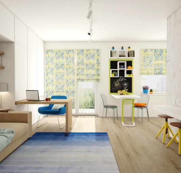 Căn hộ nhỏ đầy cảm hứng với tông màu vàng chanh 6
