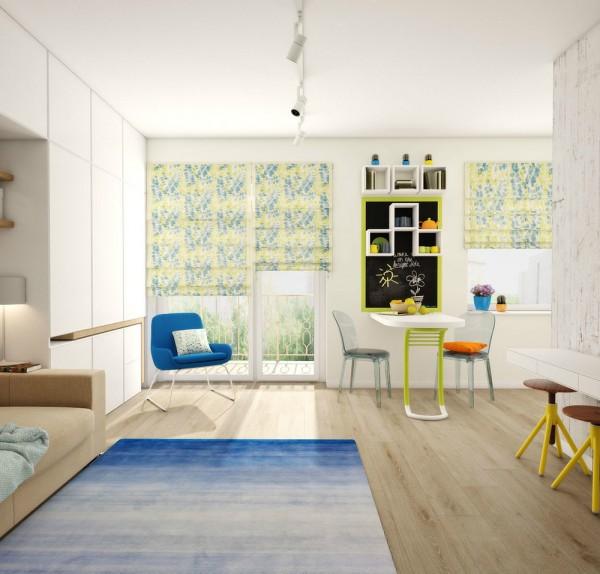 Căn hộ nhỏ đầy cảm hứng với tông màu vàng chanh 5